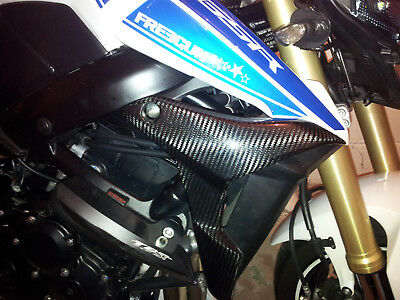 Flancs Suzuki Gsr 750 Carbone Brillant