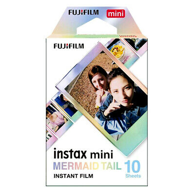 Fuji INSTAX mini MERMAID TAIL  Instant Film - Free UK Delivery