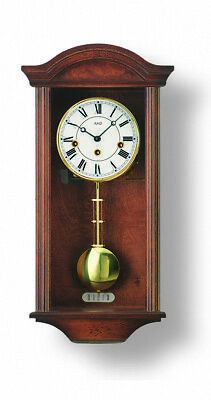Regulator wall clock, 8 day running time from AMS AM R2614/1 NEW