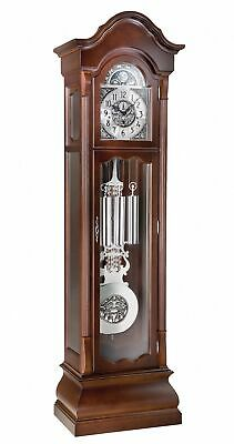Grandfather clock walnut Gothica from Kieninger KN 0141-22-01 NEW