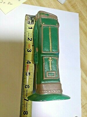 Midwest of Cannon Falls VINTAGE  CAST IRON DOOR STOP GOLF  BAG    CMCF