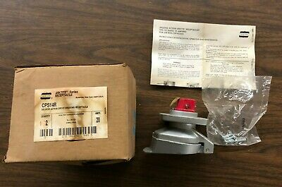 Crouse-Hinds CPS14R Arktite Series Receptacle Delayed Action Circuit Breaking