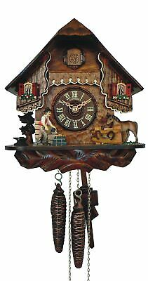 Cuckoo Clock Little black forest house SC 76/9 NEW