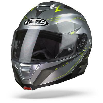 Motorcycle helmets HJC IS MAX II CORMI MC1 XS Gris//Blanc