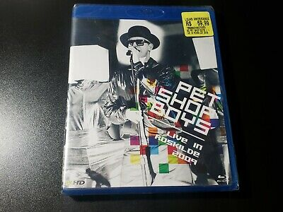 SEALED Pet Shop Boys Live In Roskilde Blu-Ray BRAZIL PRESS- no cd yes super very