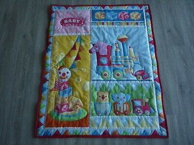 New Handmade Baby Quilt (Blanket)  - Circus