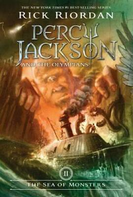 The Sea of Monsters (Percy Jackson and the Olympians, Book 2) - Paperback - GOOD