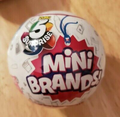 Mini Brands Collection 5 Surprise Mystery Blind Capsule Ball Zuru New