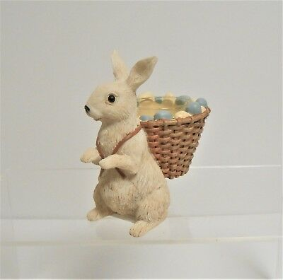 """Yankee Candle Easter """"On the Bunny Trail"""" Tea Light Holder"""