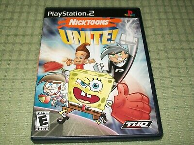 Nicktoons Unite! (Sony PlayStation 2) PS2 CIB Complete Action Game Nick Toons
