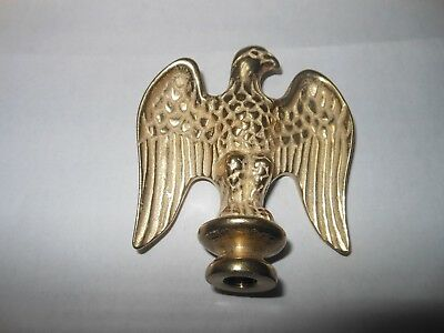 New Polished Brass American Eagle Lamp Finials By ADL Model E808