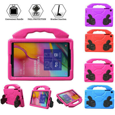 For Samsung Galaxy Tab A 2019 10.1 Full Body Case Handle Stand Kids T510 T515