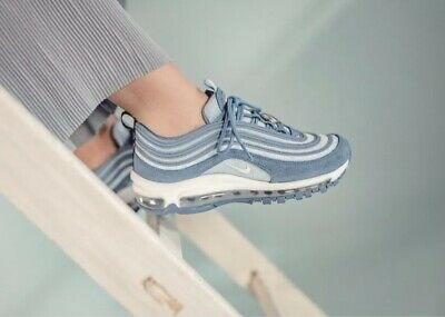 "Nike Air Max 97 SE GS ""Have A Nike Day""Trainers Indigo Storm UK 5.5 BQ7565-400"
