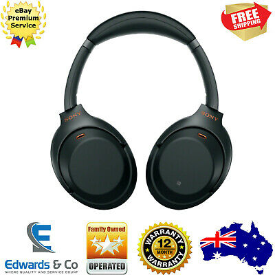 Sony Noise Cancelling Headphones Wireless Bluetooth Over Ears Black WH1000XM3B
