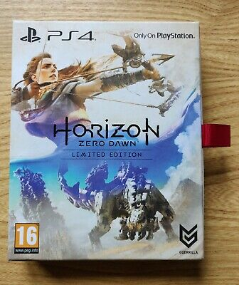 Horizon Zero Dawn Sony PlayStation 4 PS4 Limited Edition New Sealed