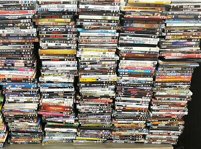 BULK WHOLESALE JOBLOT OF 50 DVDs BUNDLE CARBOOT MARKET RESALE