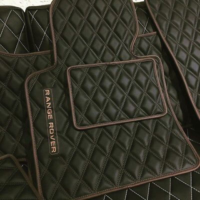 premium luxury set car floor mats for Range Rover Evoque Velar Vogue Sport