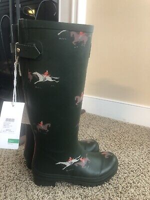 Joules Rain Boots Right As Rain size Women's 5 Brand New Wellies