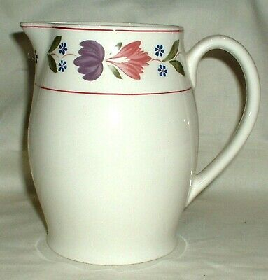 "Adams Old Colonial Tall 6"" Jug - Water / Juice / Custard / Gravy Vgc"
