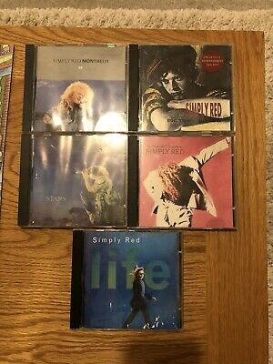 Simply Red CD Bundle - 5 Albums