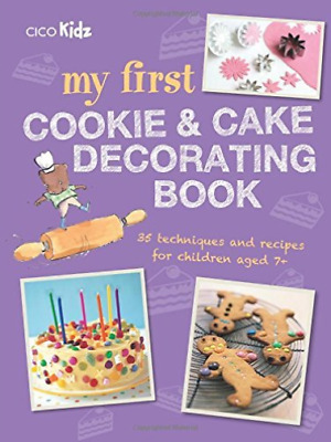 My First Cookie And Cake Decorating (UK IMPORT) BOOK NEW