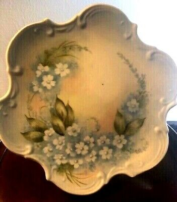 """Vintage Very BeautifulHand Painted Plate 8.2"""" Floral"""