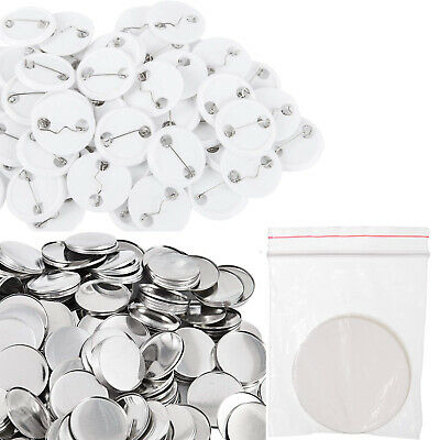 "500 or 1000 Sets 1"" 1.25"" 1.5"" 1 1/4""  Button Parts Supplies for Maker Machine"