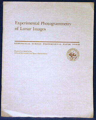 USGS APOLLO 15 16 17 PHOTOGRAMMETRY !980 Mission Details, Research ALL FOUR MAPS