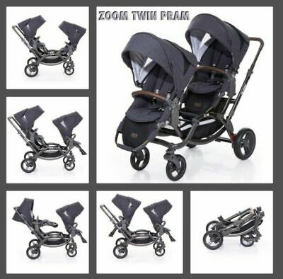 ABC Design Zoom Twin Pram