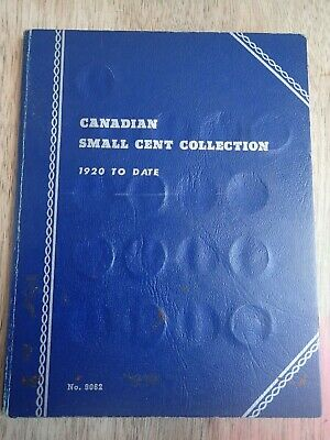 Canadian Small Cent Collection 1920-1965 Set (Missing 11 Coins)