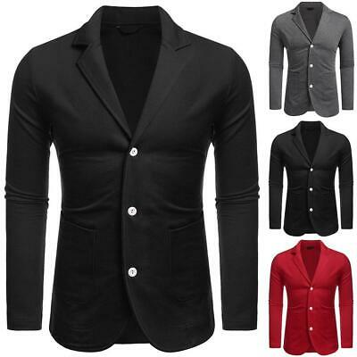 Men Classic Notched Lapel Casual Blazer EHE8 01