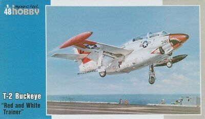 Special Hobby 1//32 North-American T-2 Buckeye/' ROSSO /& Bianco allenatore/' #32037