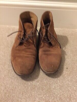 Marks & Spencer LUXURY Collection Suede Chukka Boots UK Size 9.5