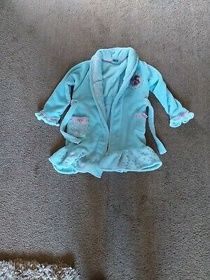 Girls disney dressing gown age 8-9