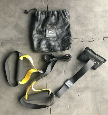 Suspension Trainer Strap PowerGym Fitness Crossfit Strength /& Conditioning