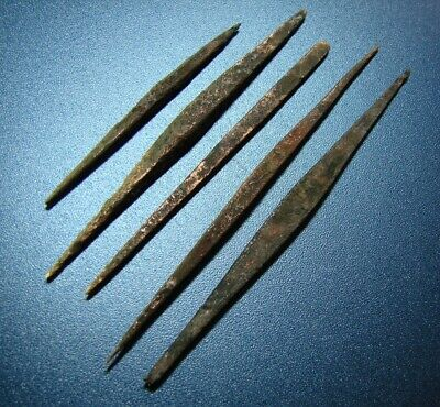 Ancient tools. Piercing. Scythians. Bronze Original.