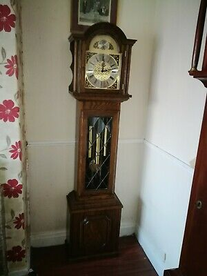 grandmother clock by fenclocks of England. Westminster chimes.