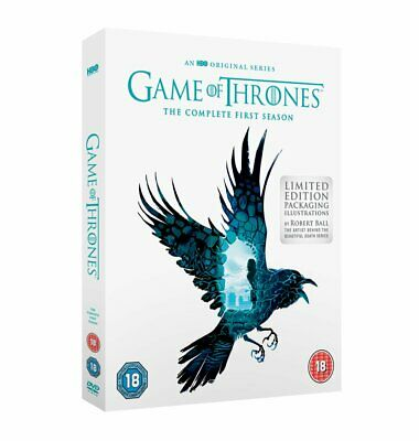 GAME OF THRONES - limited edition - COMPLETE FIRST SEASON 1 - NEW SEALED DVD