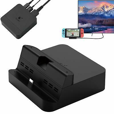 GULIkit Switch Dock Set Station de Recharge pour Nintendo Switch Type-C vers ...