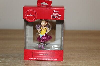 Hallmark 2018 Disney Fancy Nancy Christmas Tree Ornament