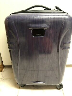 """TUMI International Lavender Hard Side Carry On Spinner, 22"""" X 14"""" X 9"""",  New!"""