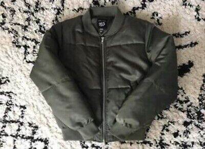 New Look Girls Khaki Bomber Jacket UK Age 10 to 11