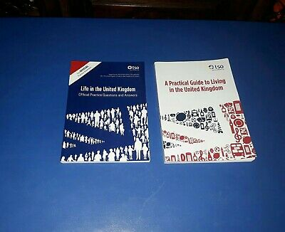 Life in the UK United Kingdom - 2 Book Set British Citizenship Test & ILR 3rd Ed