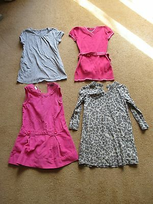 BUNDLE OF 4 DRESSES AGE 3- 4 Years - GAP & MEXX