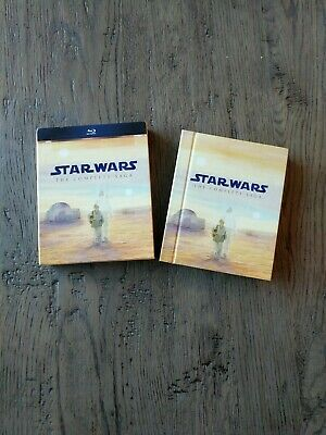 Star Wars: Episodes I, II, III, & IV (Blu-ray Disc, 2011)