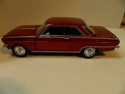 Chevrolet Nova 1964 New Ray 1:24 Burgundy NR71823BU