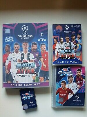 Match Attax Topps Champions League 2018 2019 Completo