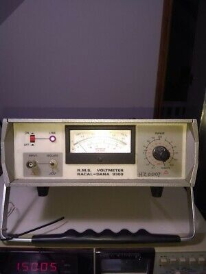 Racal Dana 9300 Rms Voltmeter Ex Mod Test And Calibration Service Working Order