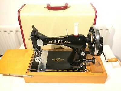 1895 Singer Antique Sewing Machine, vintage Home Decor