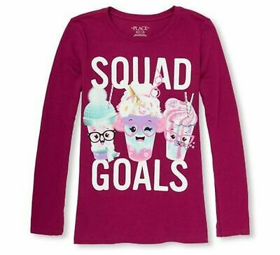 NEW Girls Harry Potter Squad Goals Raglan Long S Top Tee NWT 6 7 8 10 12 14 16